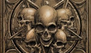 Pentragram skull