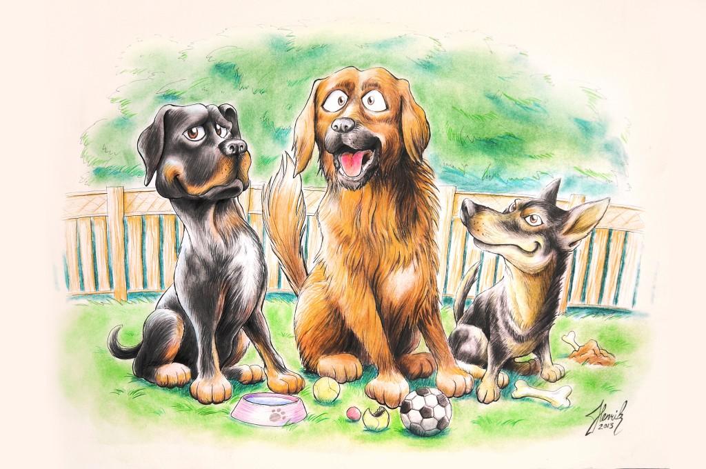 Fredriks hundar small